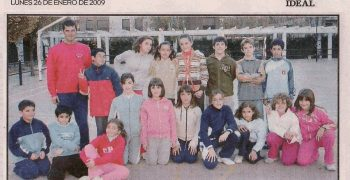 Extracto Ideal del Grupo Alevín en Fuentenueva