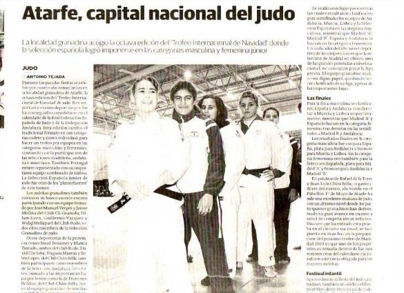 Campeonato Judo Atarfe