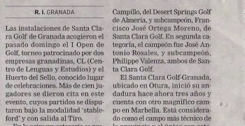 Open Golf CL Granada