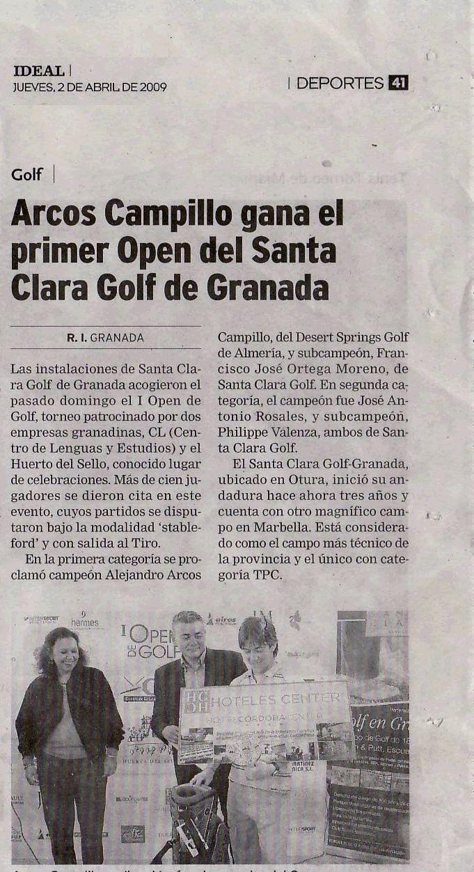 Open Golf CL Granada
